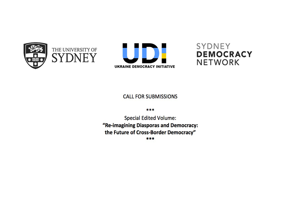 "CALL FOR SUBMISSIONS | NEW BOOK ""RE-IMAGINING DIASPORA & DEMOCRACY"""