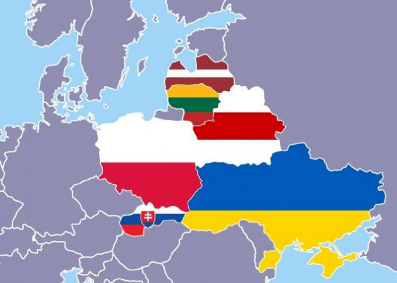 Alternative Map Of Europe.Article Intermarinium As A Security Alternative For Eastern