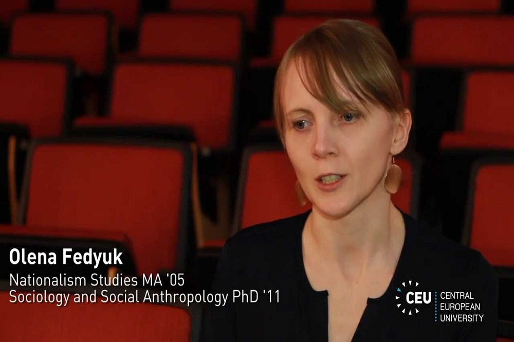 VIDEO   CPS RESEARCH FELLOW, OLENA FEDYUK, DISCUSSES HER DOCUMENTARY