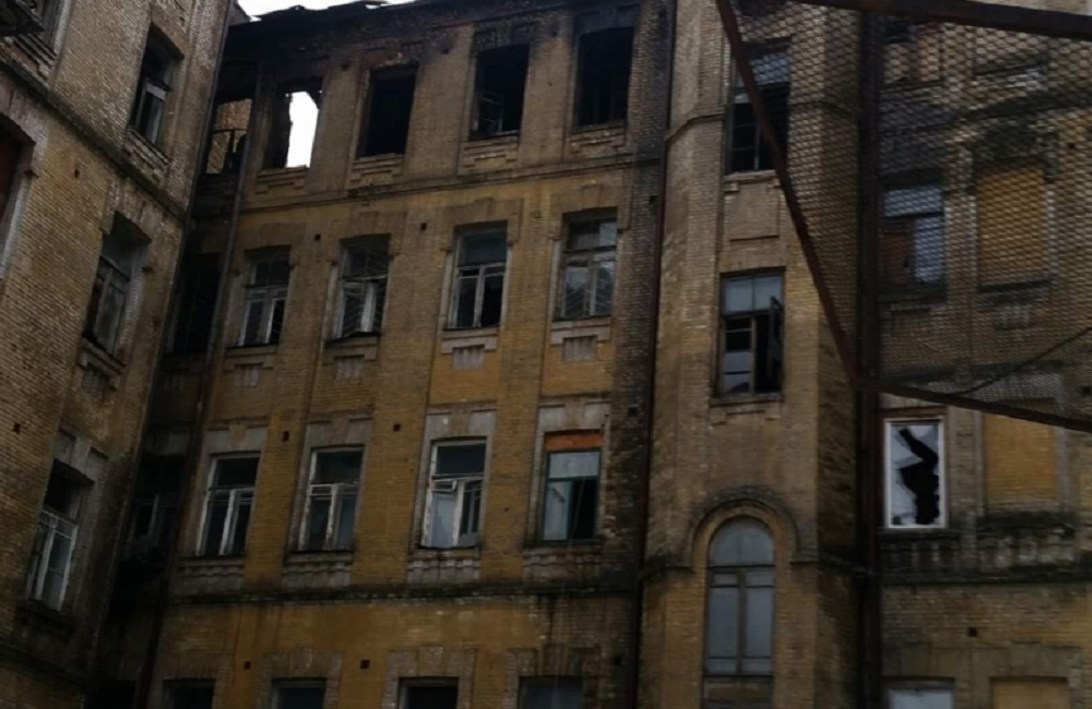 ARTICLE | Olena Terestchenko: How many more historical buildings in Kyiv will be burned down?