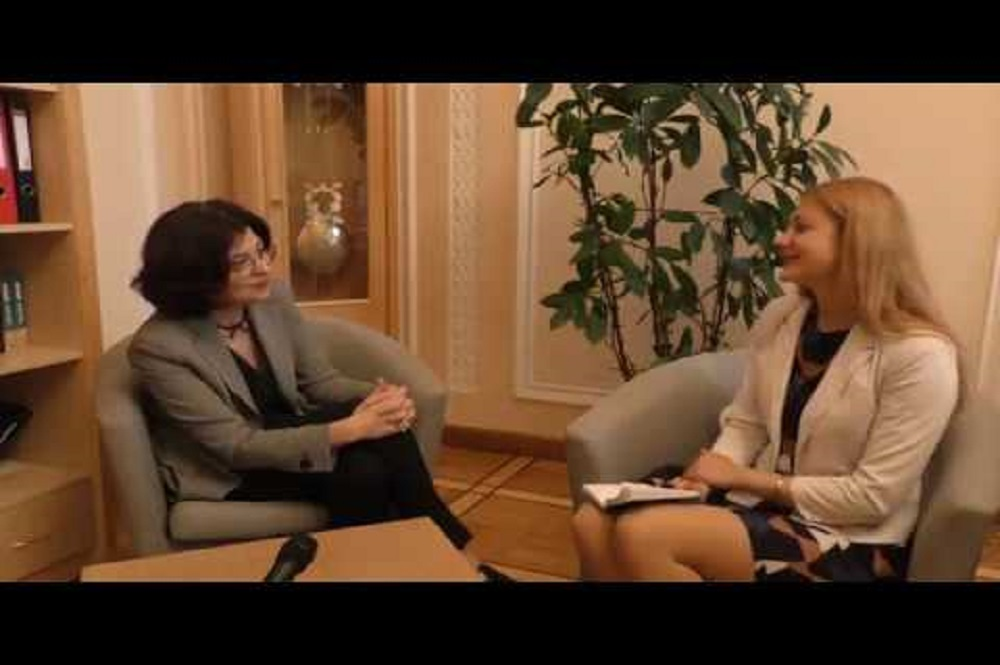 VIDEO | Interview with vice-speaker of Verkhovna Rada Oksana Syroyid