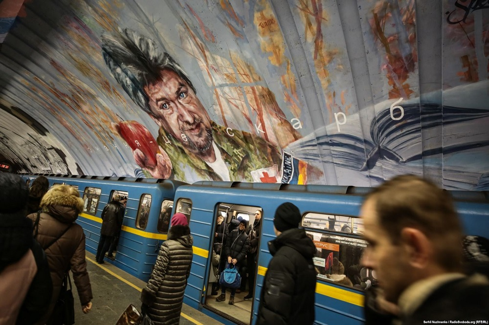 ARTICLE | Artists Go 'Underground' To Beautify Kyiv Metro